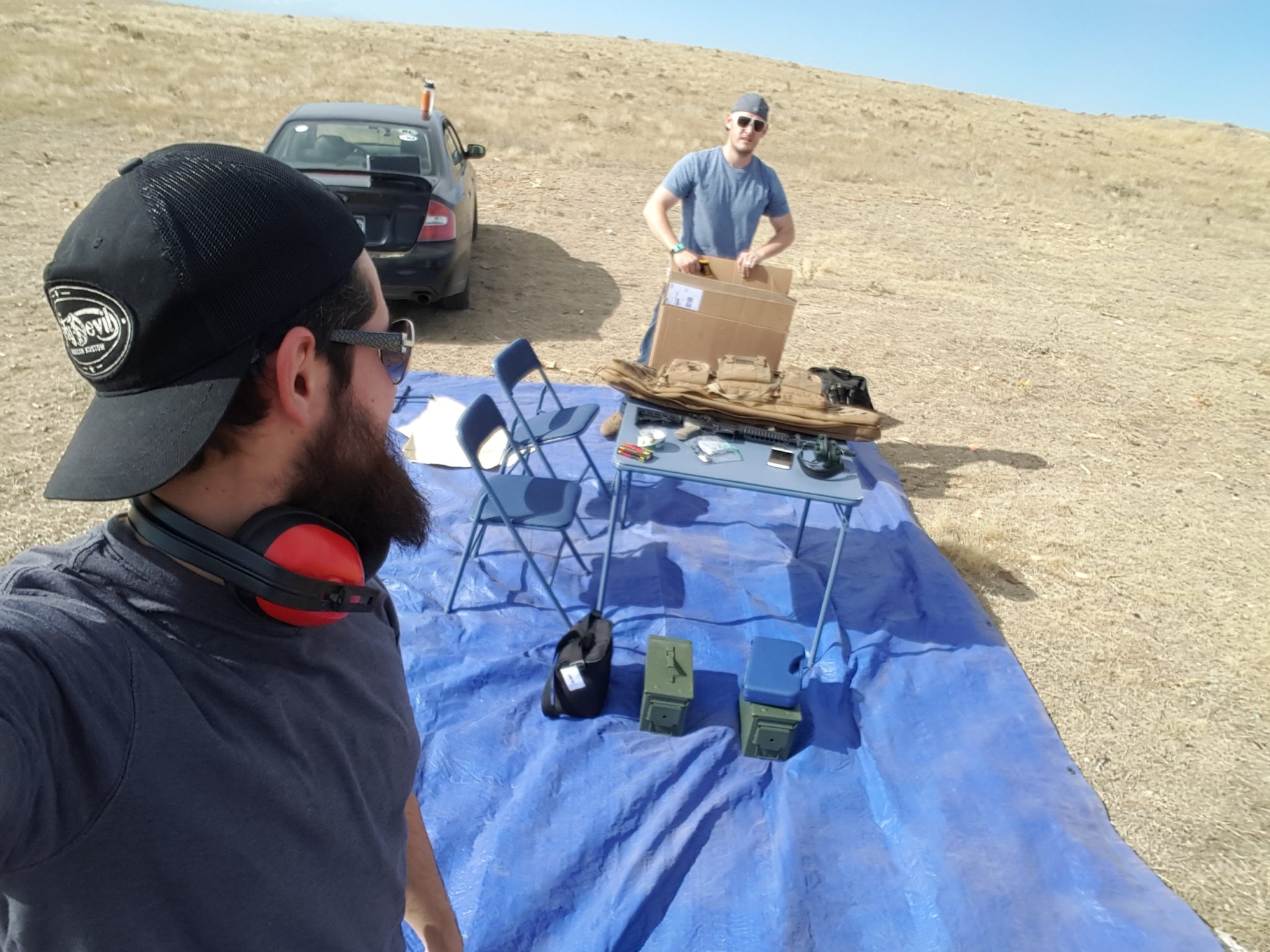 FLARE Mini™Caveman LLC, Tactical shooting accessories, Co founders