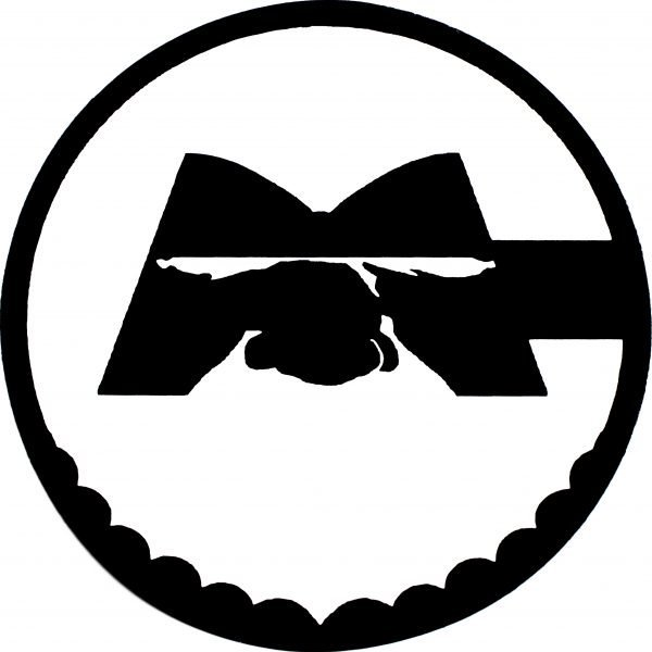 Caveman Sticker round