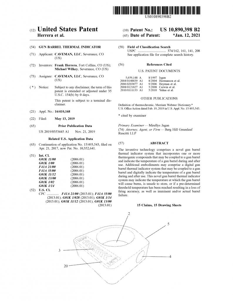Caveman Patent #2